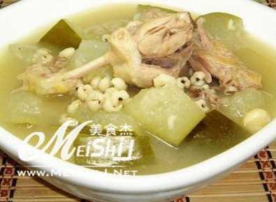 鸭肉冬瓜海参汤的做法 海参冬瓜汤最简单做法