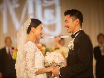 赵又廷高圆圆很甜蜜 看了赵又廷与高圆圆的婚纱照