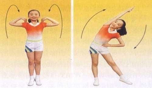 """全国第三套小学生广播体操""""七彩阳光""""分解动作详解 全国第三套七彩阳光"""