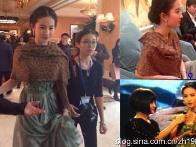 刘亦菲和干爹真实关系揭秘 刘亦菲和她干爹