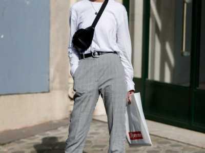 女士时装鞋图 女士西装裤配什么鞋子好看图片