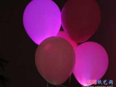 创意气球 气球创意手工制作会发光的气球灯